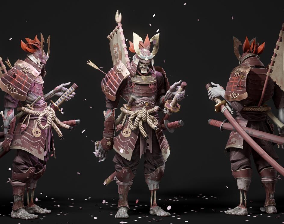 Skeleton Samuraiby Ackeem Durrant