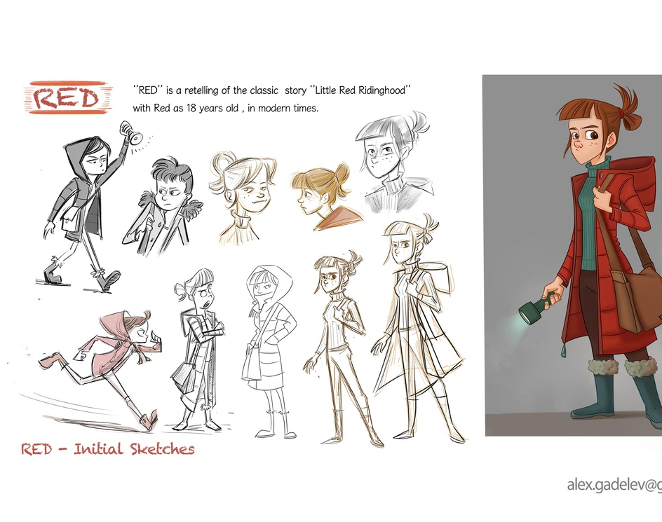 Character Design Projectby Alex Gadelev