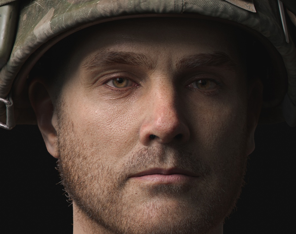 25th Infantry Division Soldierby Art Cell