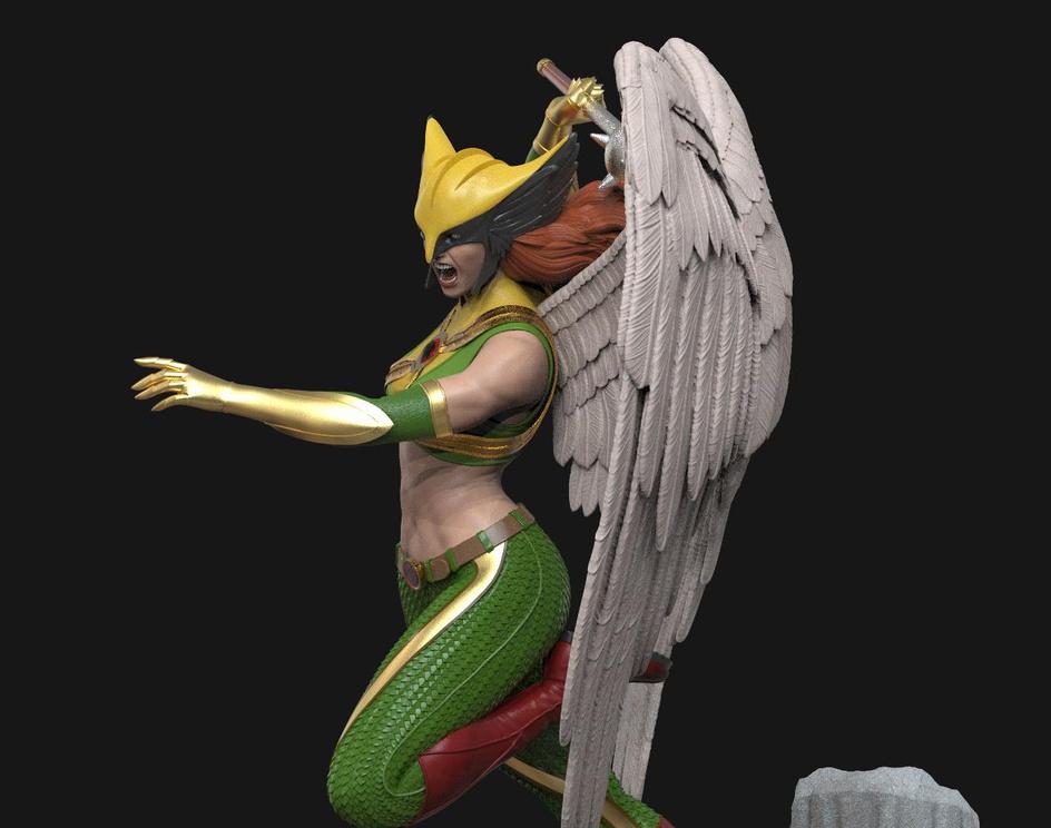 Hawkgirl - Collectiblesby Victor Prado