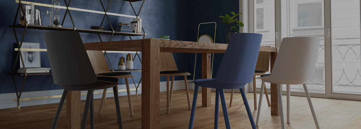 dining table 3d render