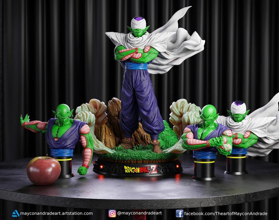 Piccolo Fan Artby MAYCON ANDRADE