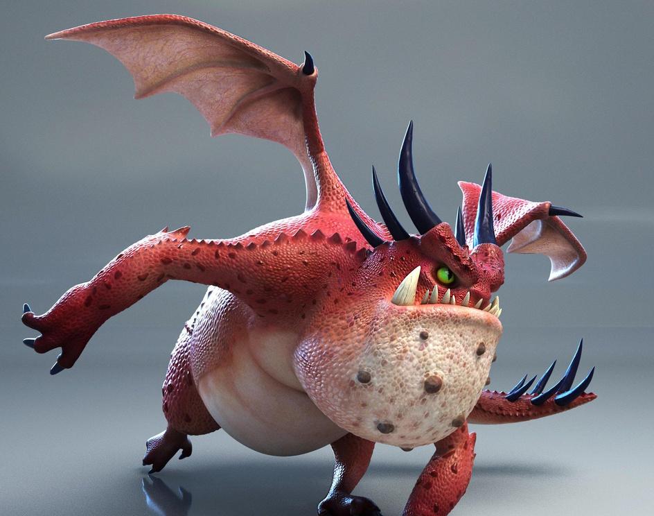 Red Fat Dragonby Fujita Yuichiro
