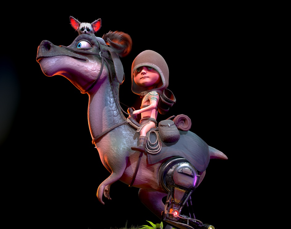 The Little Riderby Furkan Ugurlu
