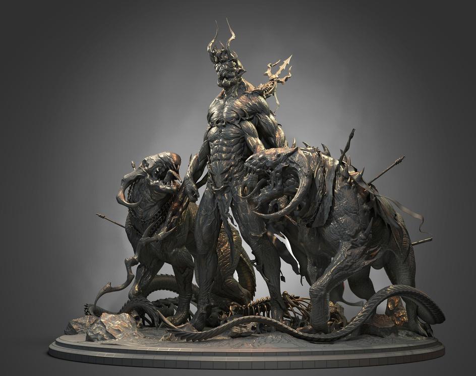 AESHMA the demon of wrath and rageby kiarash.tamizkar