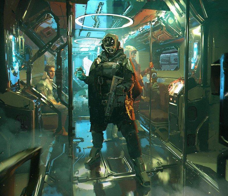 Cyberpunk Anthill Stories – A Patrol