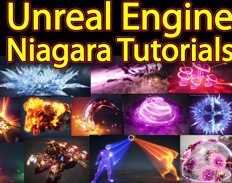 200 Unreal Engine Niagara Tutorials | 200 Real Time VFX Tutorialsby Ashif Ali