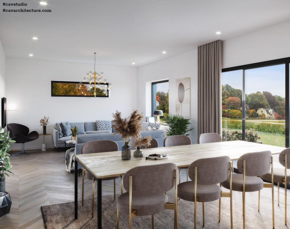 Sweden Livingroomby CAVstudio