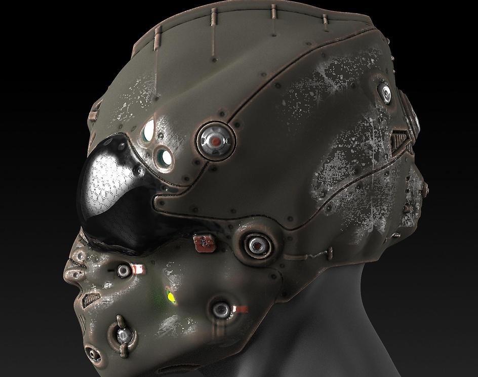 Fighter Pilot Helmetby sergioseabra