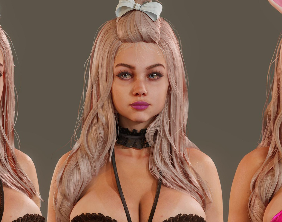 Realtime Character - based on fairy tail's character Mirajaneby Alexi Vangorn