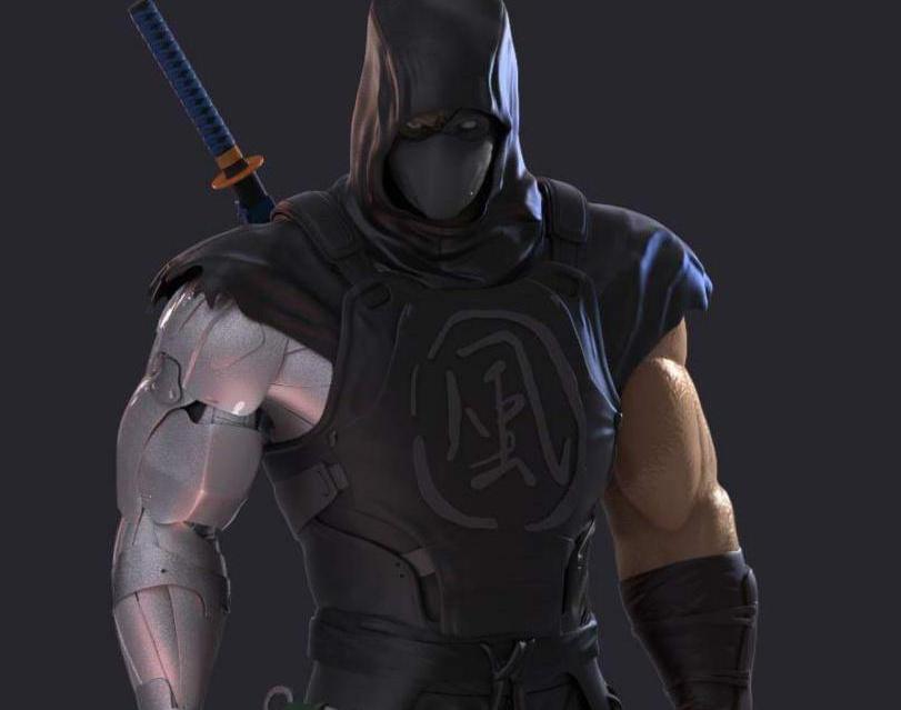 Ninja Mech Warriorby carli3d