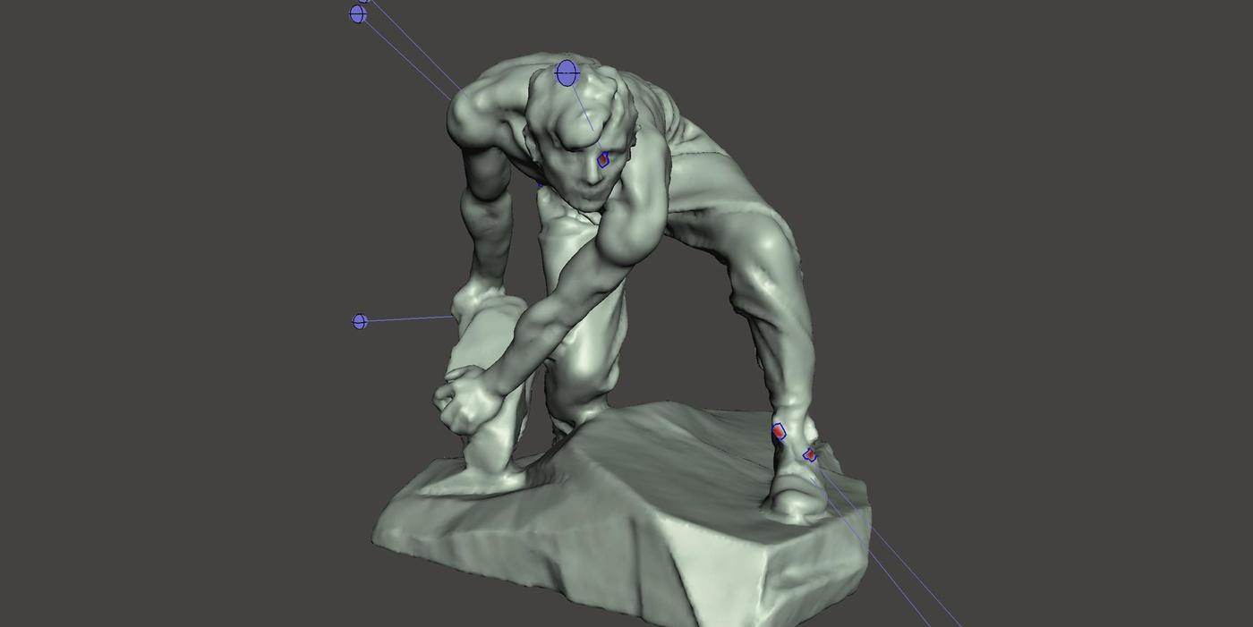 meshmixer male figurine