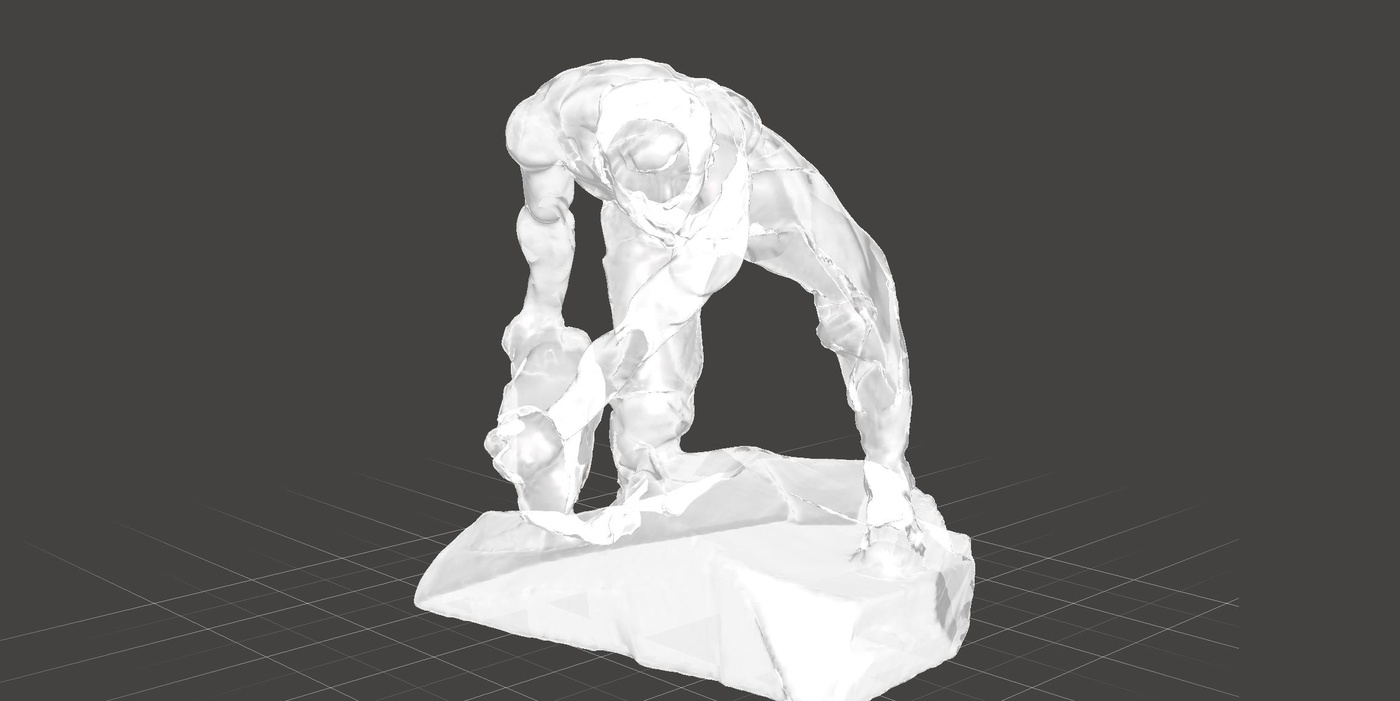 meshmixer male figure