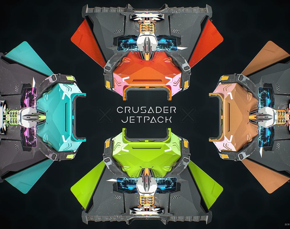 Crusader_Jetpackby sergioseabra