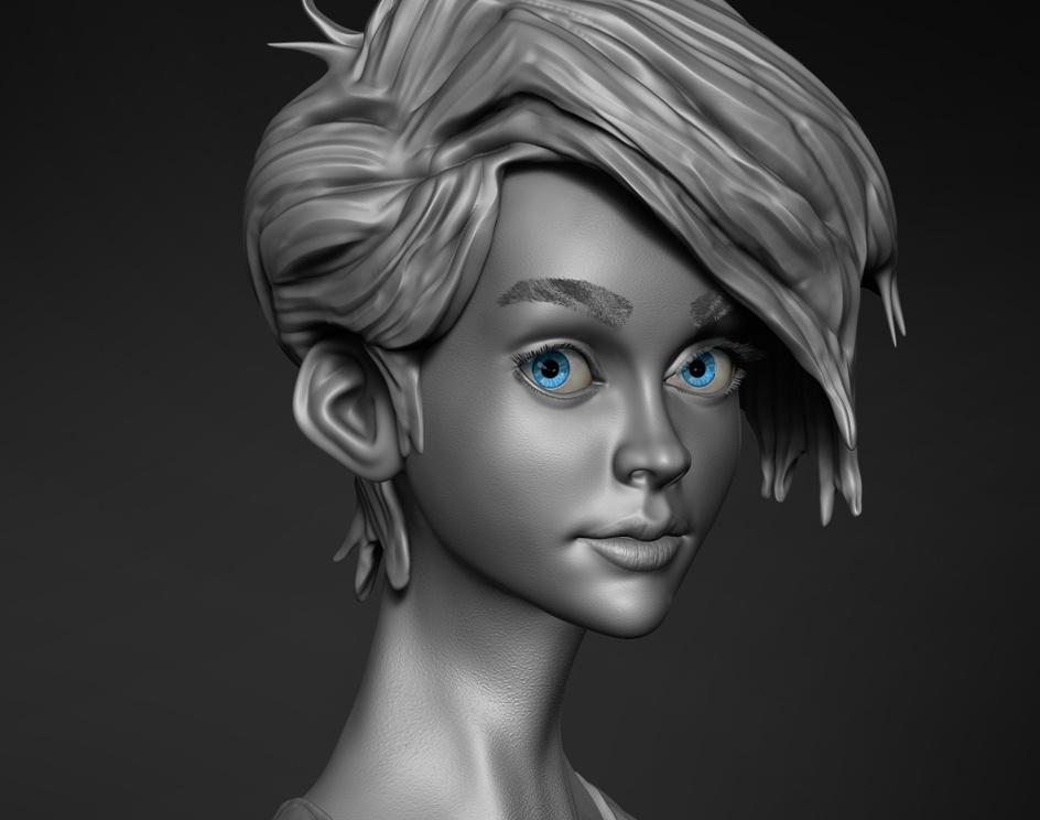 Another Girl Based on Anna Korkman Artby BhushanArekar