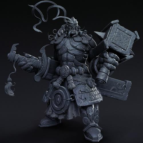 world of warcraft model 3d design character