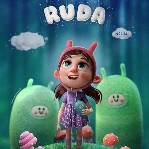 girl childhood cute character model
