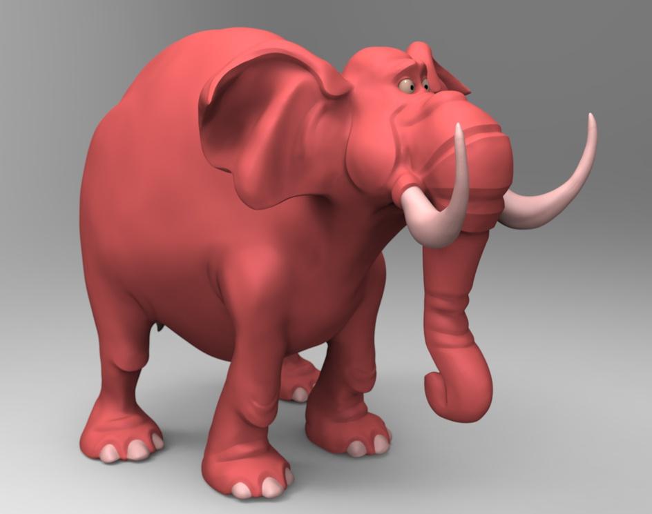 Toon Elephantby EddieChristian