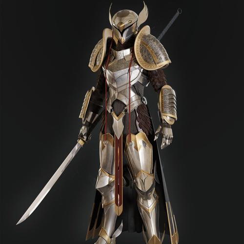 Egyptian warrior protector futuristic