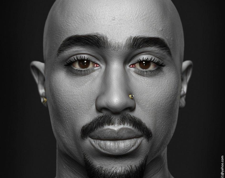 Tupac Shakurby Hossein_Diba
