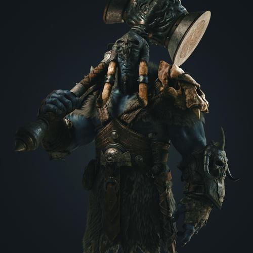 troll warrior fantasy character
