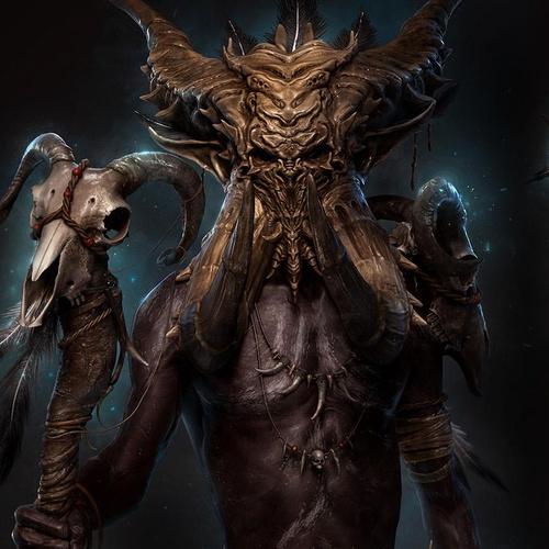 diablo medic scary creature