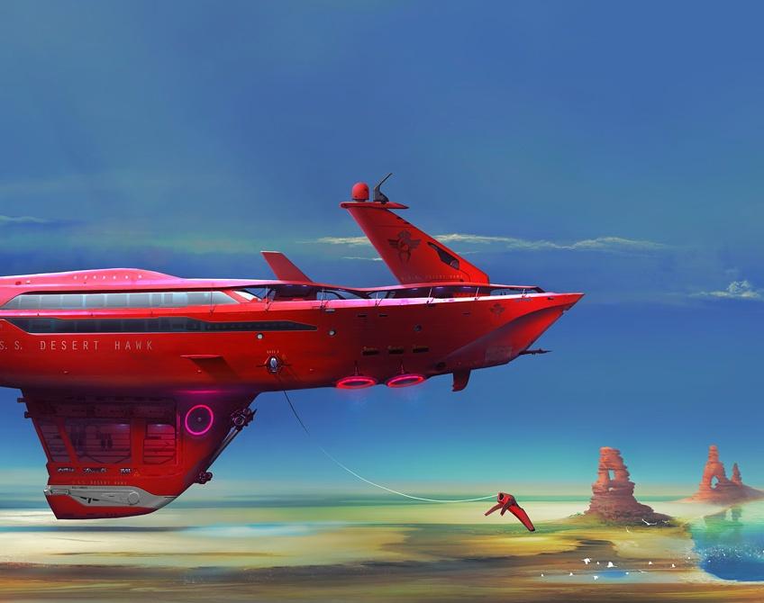 USS Desert Hawkby DanielVijoi