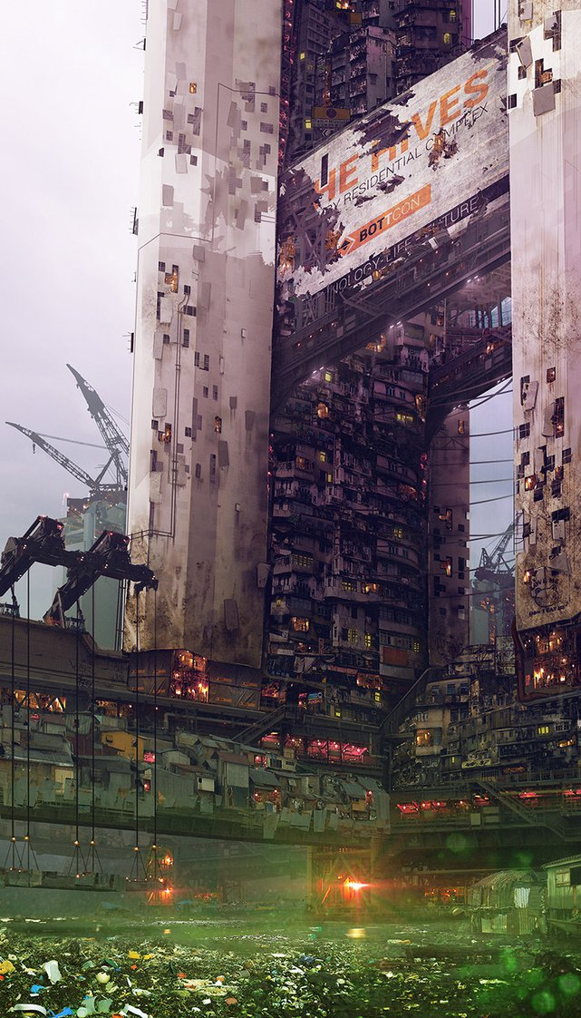 Cyberpunk The Hives Building