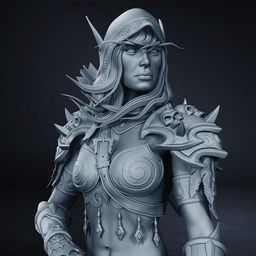 female character design warrior model