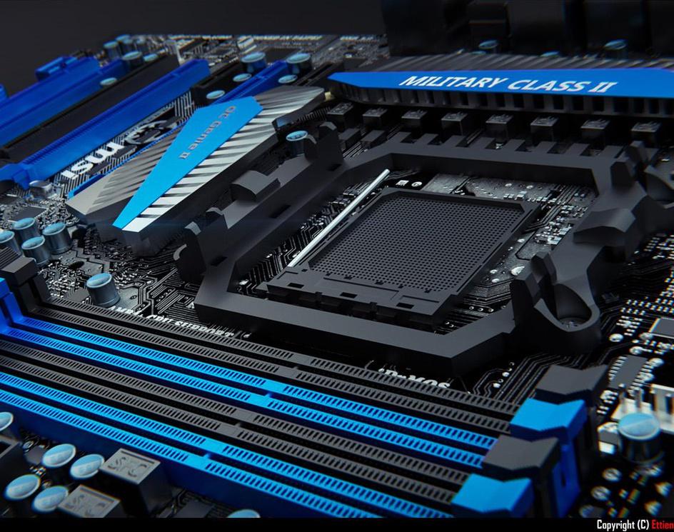 MSI 990FXA-GD80 Motherboard 02by Xelus