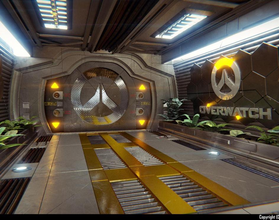 Overwatch Corridorby Xelus