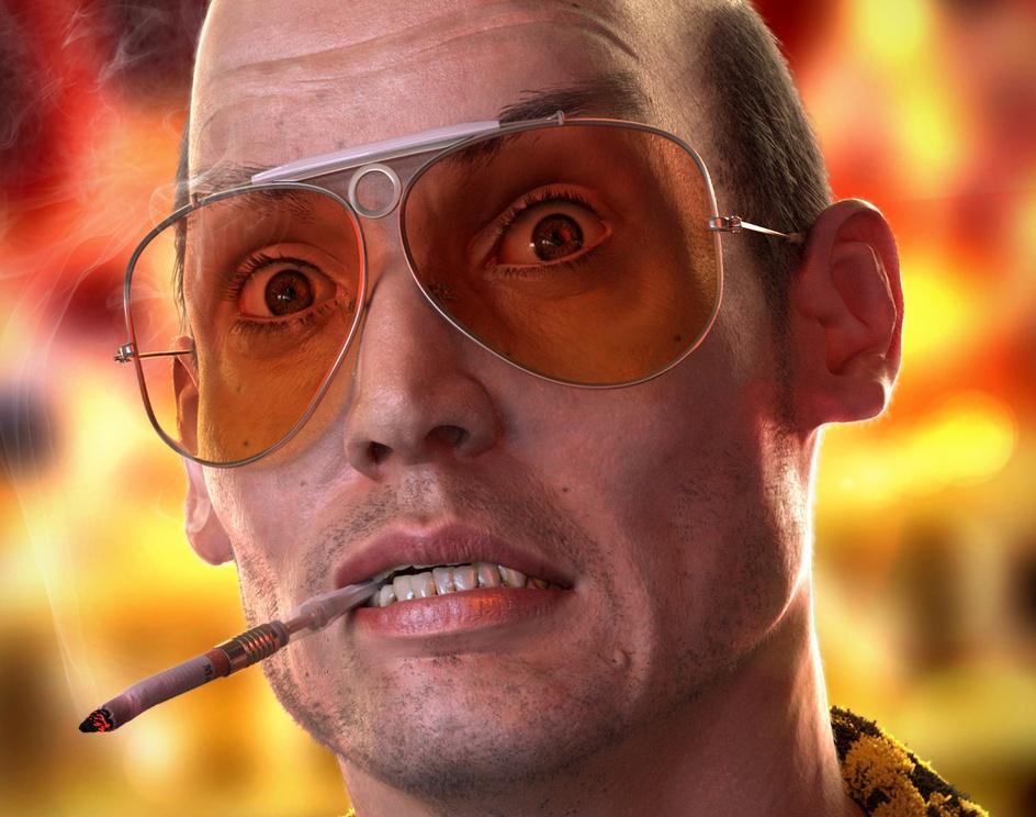 Johnny Depp as Hunter S. Thompsonby DanielN