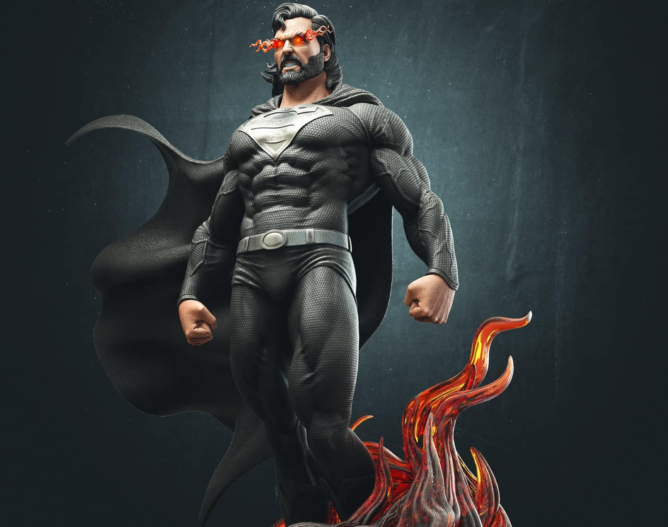 Superman Fan ARTby susheel kumar