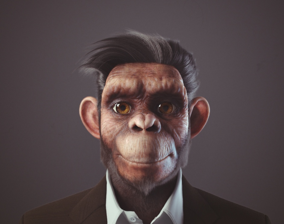Business monkeyby Yuriy Dulich