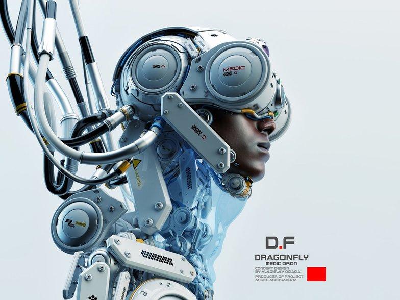 Cyberpunk Dragonfly II