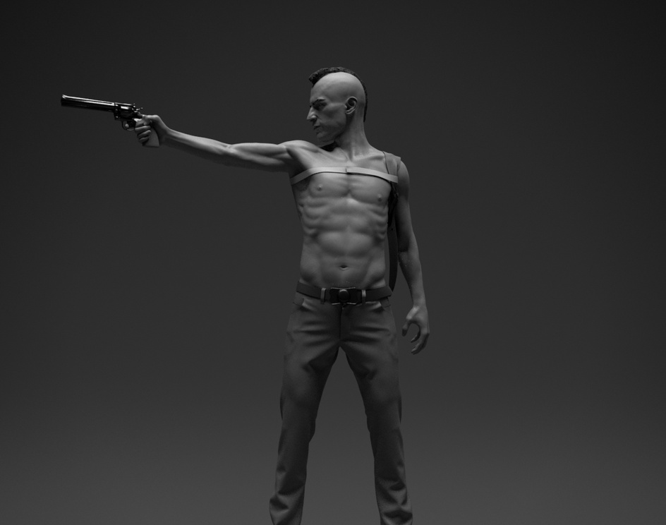 TAXI Driver WIP Fan Artby Stavros Karagiannis