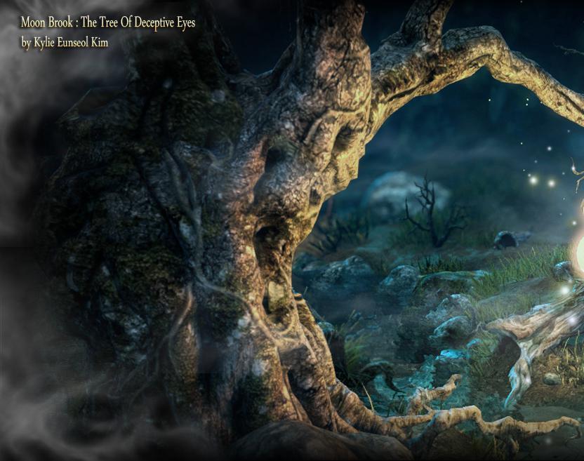 Moon Brook : The Tree Of Deceptive Eyesby Kylie Eunseol Kim