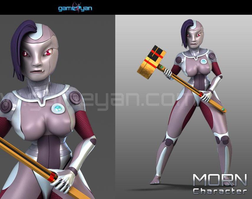 Morn Cartoon Character Modelingby GameYan