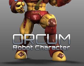 Orcum Robot Character Modelingby GameYan