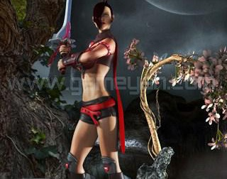 3D Lady Warrior Character Design Studio by GameYan