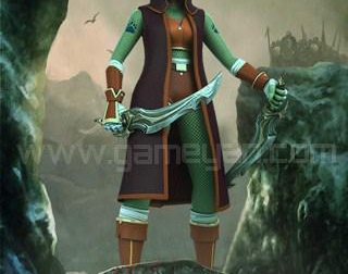Lotha Warrior Creature Character Rigging Designerby GameYan
