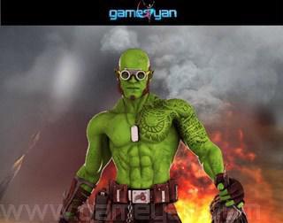 3D Funifap Warrior Game Character Modelingby GameYan