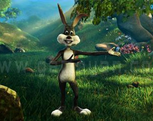 Bunny Cartoon Character Modeling South Africaby GameYan