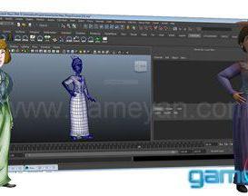 Character modeling Studio by GameYan
