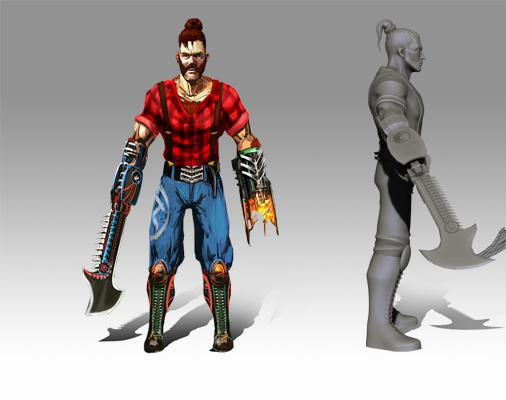 Josh Stardom Stylized Game Characterby GameYan
