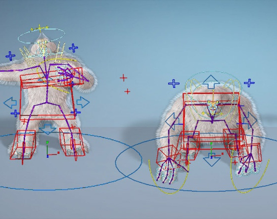 Frosc The Yeti – Rigging and Animation Dubai, UAEby GameYan