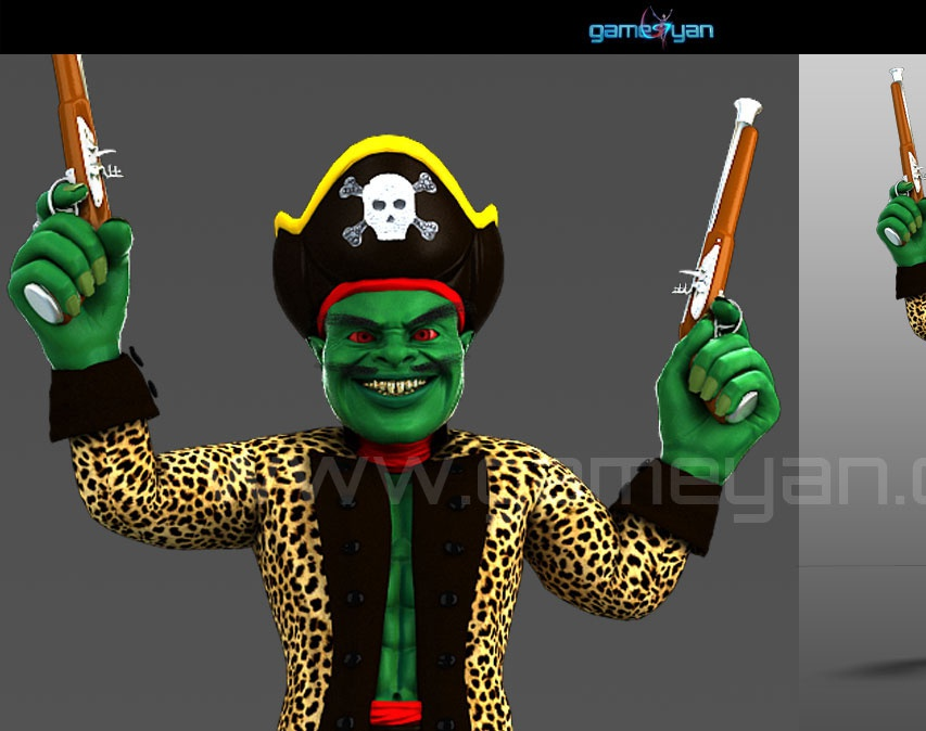 Misterf Pirate Character Animationby GameYan