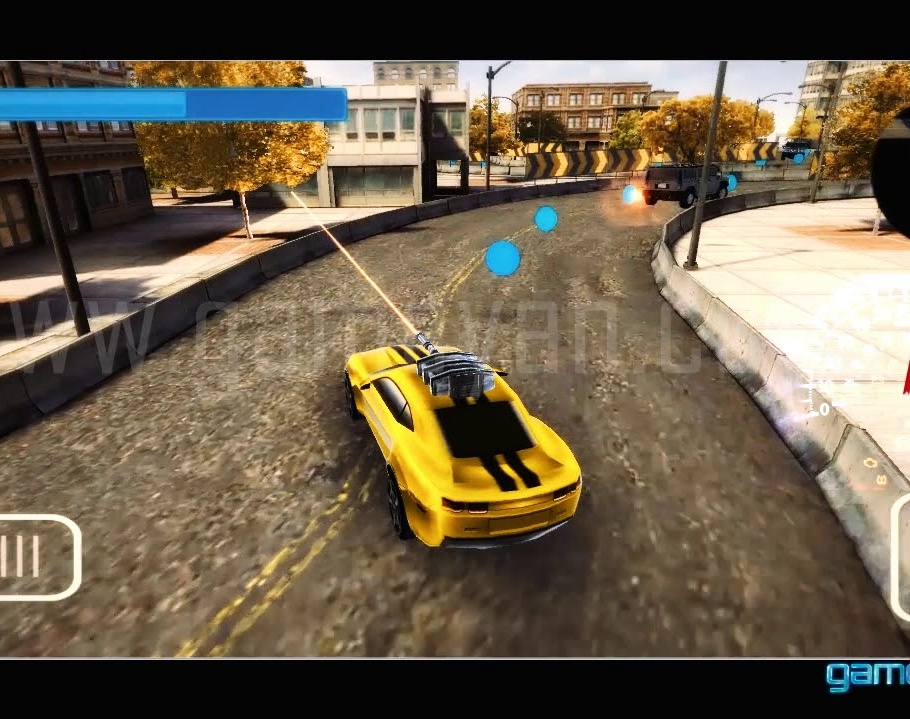 Gameplay of Crazy Shooting Car - 3D Mobile Race Gameby GameYan