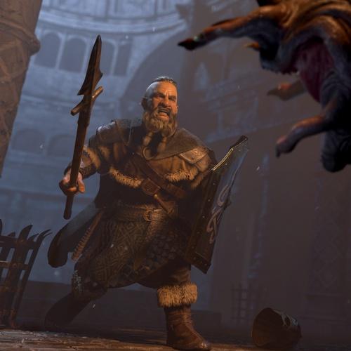 dwarf slayer battle warrior