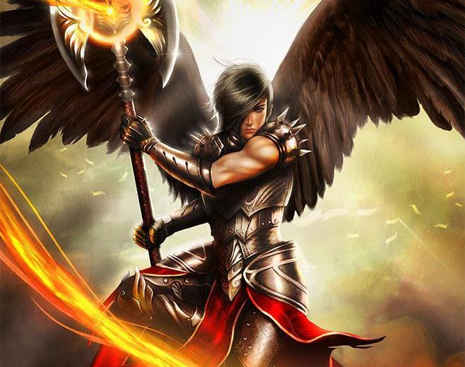 Firestorm archangelby DyanaWang